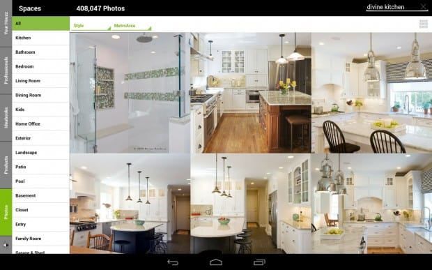 Image gallery houzz interior design app for Interior design decoration app