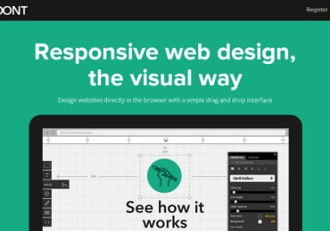 Newest and most notable visual responsive website design tools